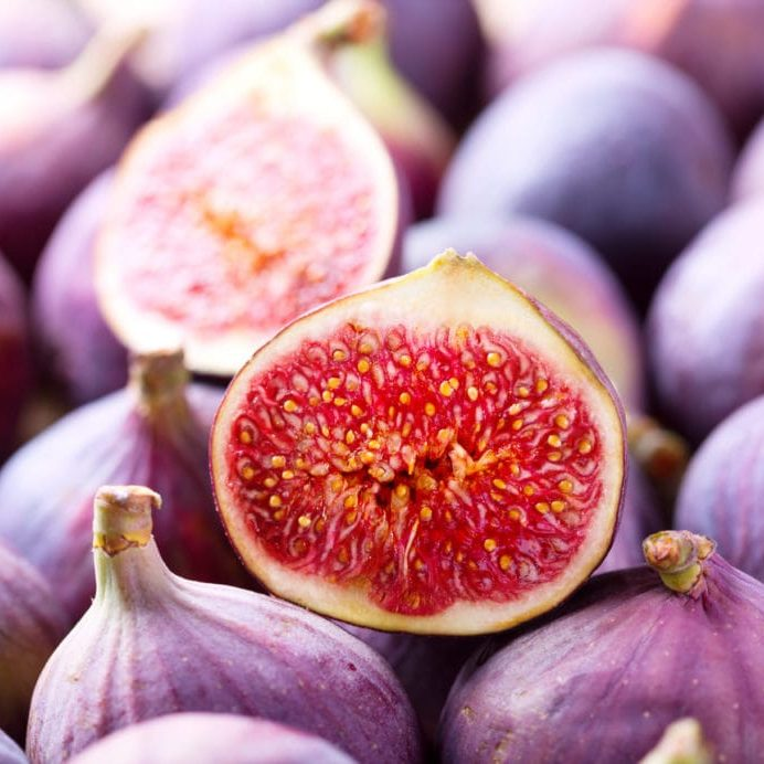 fresh fruit figs as background